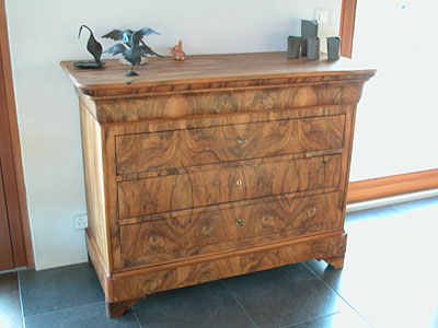 Commode Louis Philippe noyer