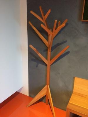 Porte manteaux arbre